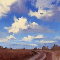 Landscape study #11 by O-l-i-v-i