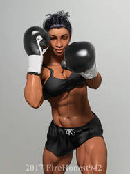 Boxing: Donna 001 by FireHonest942