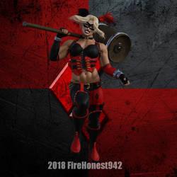 Fanart: Harley Quinn 001 by FireHonest942