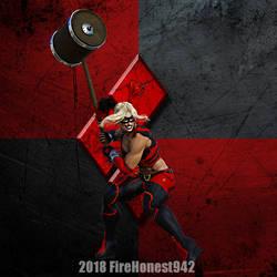 Fanart: Harley Quinn 002 by FireHonest942
