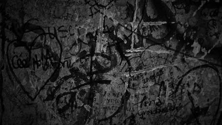 Berlin Wall - BW by elusive