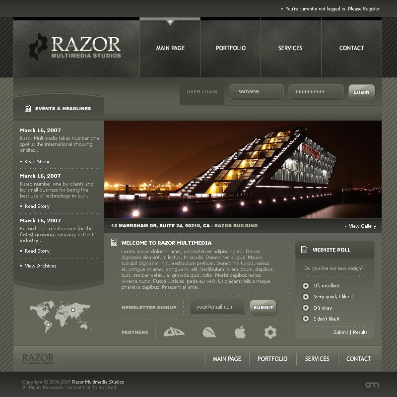Interface - Razor by elusive