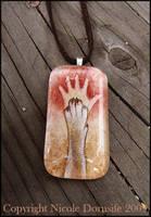 Origins glass pendant by thornwolf