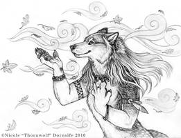 Into The Wind by thornwolf