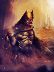 Burning Bat! Hungry Bat! by MilanPad