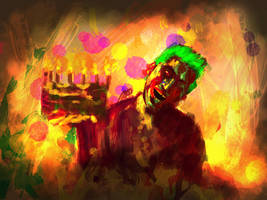 Zombie Joka Happy Badday...... by MilanPad