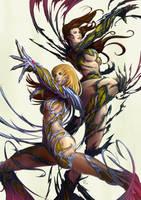 Sara and Dani Color by erufan