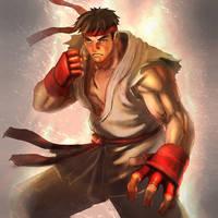 Street fighter by erufan