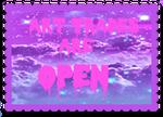 Art Trades Open Button by ChemicalAmbulance