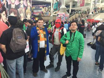 Anime Expo 2018: Me and the boys by MaxGomora1247
