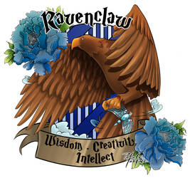 Ravenclaw by Masked-Patatoe