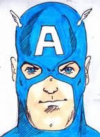 Captain America Colors by mentaldiversions