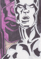 Silver Surfer by mentaldiversions