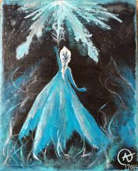 Frozen: Elsa  by Iloveowls1125