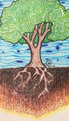 A Spirited Tree by Iloveowls1125
