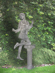 The new Garden Statue by medieval-wizard