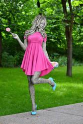 Pink princess by medieval-wizard