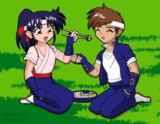 S n' K -- Shingo and Kasumi by ShawnTheTouched