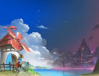 Island by mad-jojo