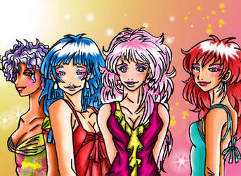 Jem Girls by Majojoy