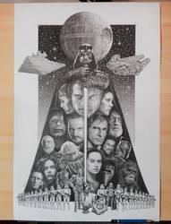 Star Wars 40th by Vigior