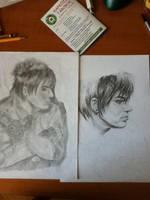 Adam-I drew him a year ago... by littleglamster