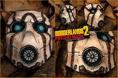Borderlands 2 Psycho mask by KatrineH