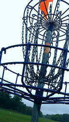 Disc Golf Basket by lolpants725
