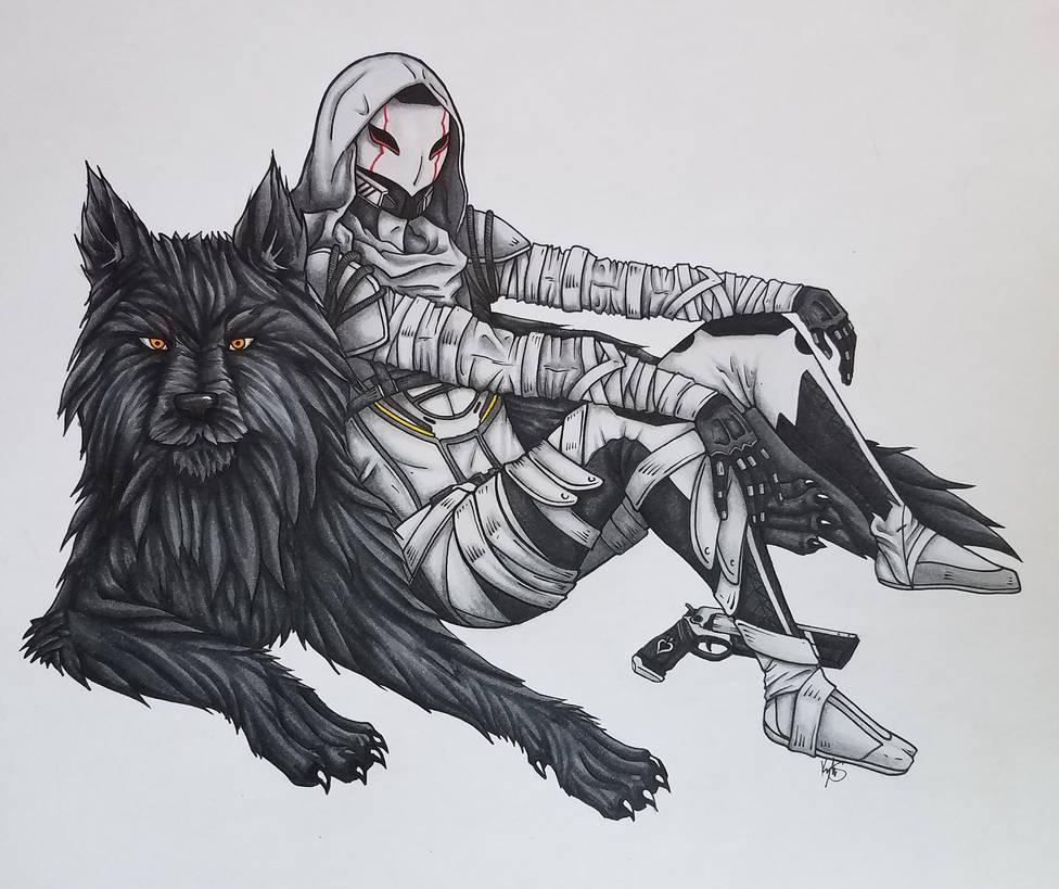 Blackwolf! by lolpants725