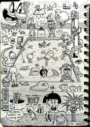 [Sketchbook] #28 by Zerocakes