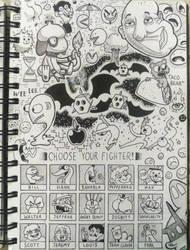 [Sketchbook] #29 by Zerocakes