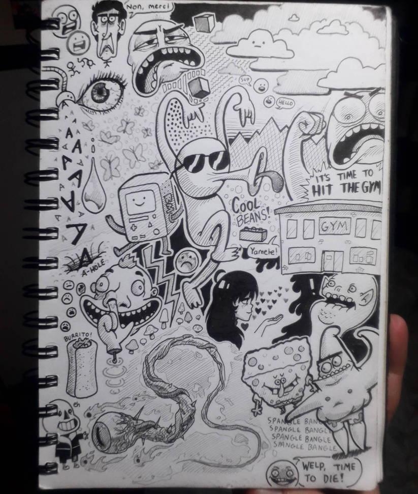 [Sketchbook] #30 by Zerocakes