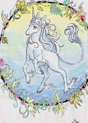 The Last Unicorn by Psyprass