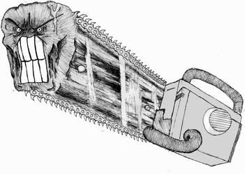 Raeg Chainsaw by Psyprass