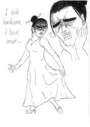 A lovely portrait of me by Psyprass