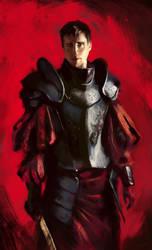Scarlet Warrior by NordikArts