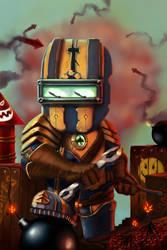 Goblins vs Gnomes: Bomb Squad by NordikArts