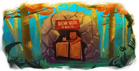 Card Bear Nook   by NordikArts