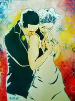 RandR Wedding by abcartattack
