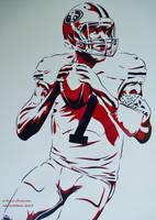 Colin Kaepernick Stencil by abcartattack