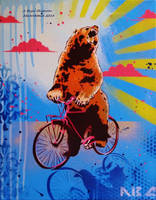 Bear Back Rider by abcartattack