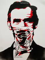 Lincoln Patriot Thug Stencil by abcartattack