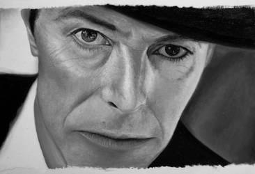 David Bowie portrait - on sale by Dona90