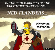 40k - Ned Flandiddly-anders by AmrothDin
