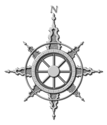 Compass Rose by DLIMedia
