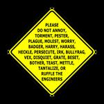 WarningSign Engineer by DLIMedia