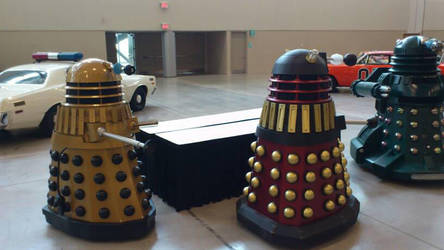 Who left these Daleks here? by TheWarRises