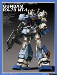 Gundam RX-78 NT-1 'Alex' by alphaleo14