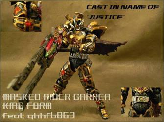 Kamen Rider Garren King S.I.C by fragclone118