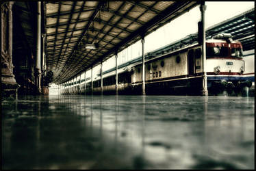 lost train by CANRE